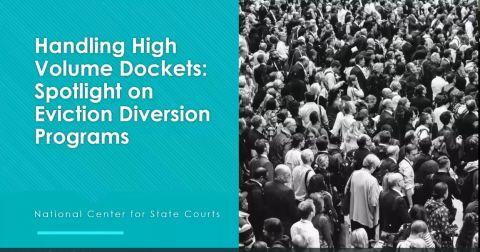 Eviction diversion programs