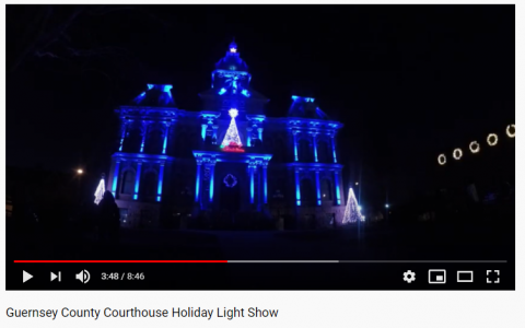 Courts bringing holiday cheer to their community