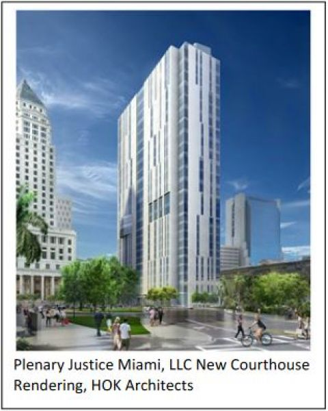 Miami-Dade Courthouse Built Using P3 Funding and Delivery Method