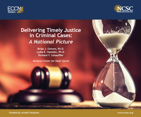 The largest national study of criminal cases ever undertaken suggests steps courts can take to dispose of criminal cases in a more timely fashion
