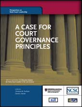 A Case for Court Governance Principles