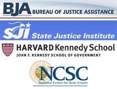 Harvard Executive Session for Court Leadership sponsor logos