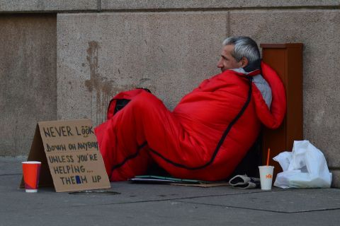 Homelessness and the court system
