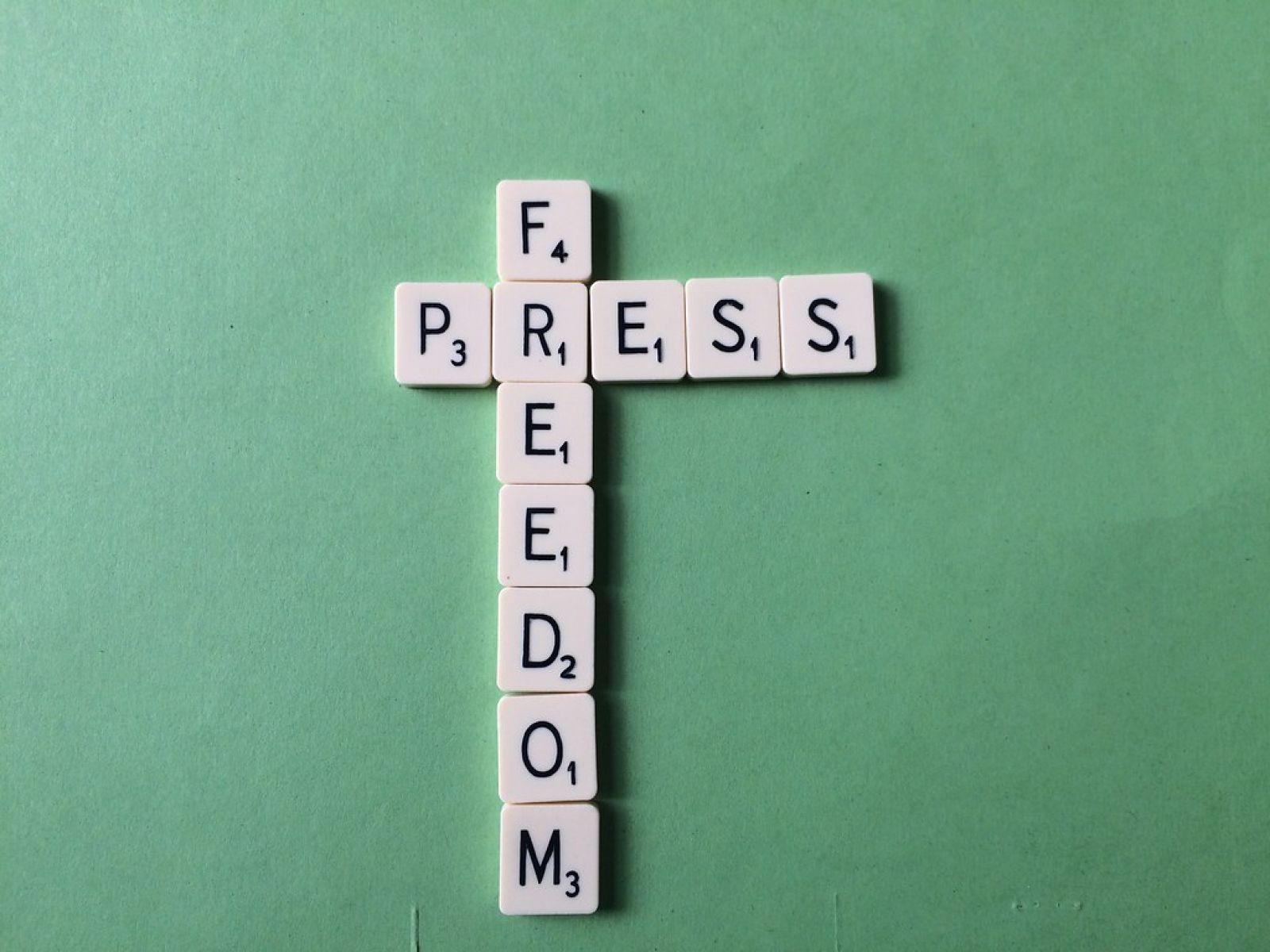 freedom of speech banner image